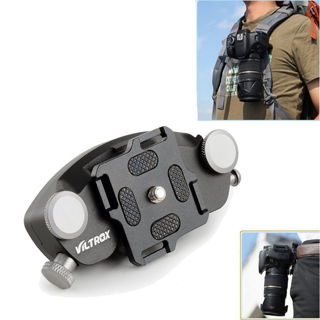 Viltrox-VX-10-Metal-Camera-Quick-Release-Waist-Belt-Strap-Buckle-Holster-Button-Mount-Clip-for